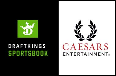 DraftKings Signs Sports Betting Deal With Caesars